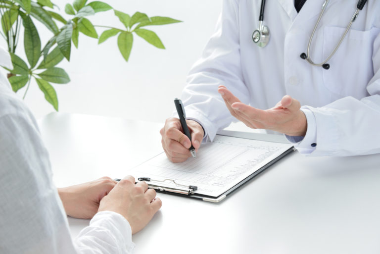 医師による問診のイメージ写真