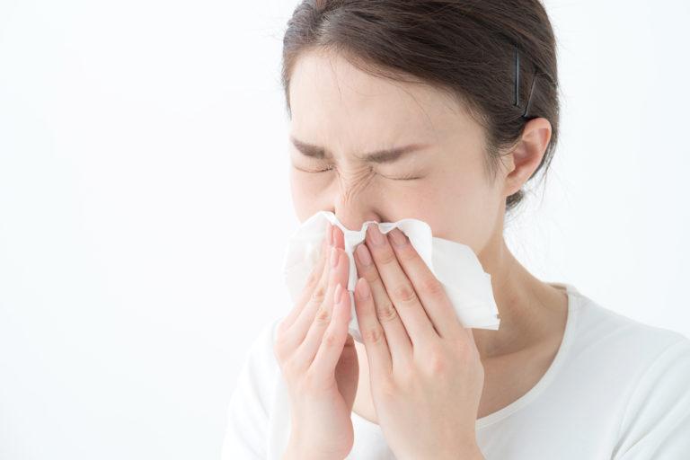 花粉症のイメージ写真